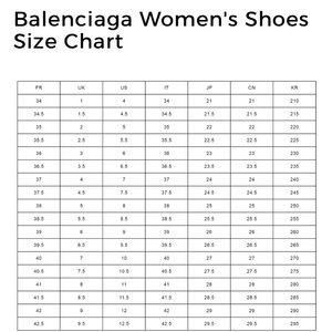 balenciaga shoes size - 56% remise
